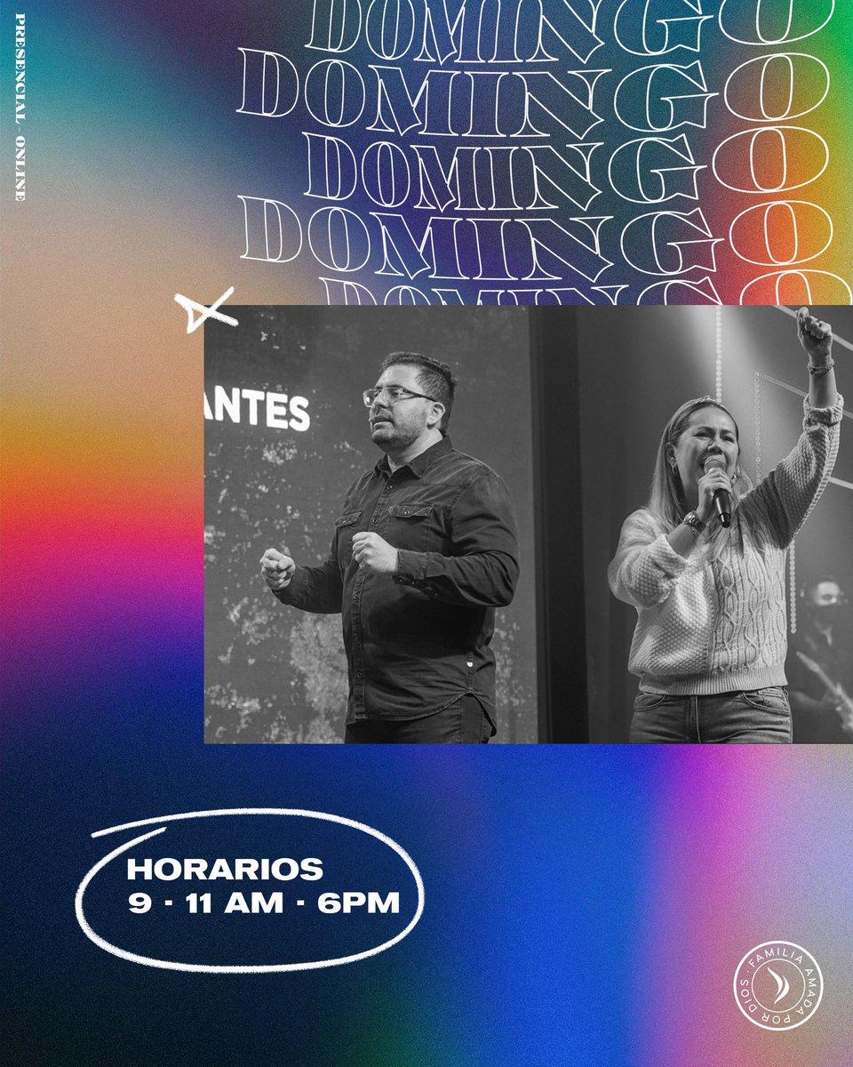 Mi Domingo favorito es en @IglesiaAmmi 🔥🙏🏻⚡️ #únete #gospelstyle