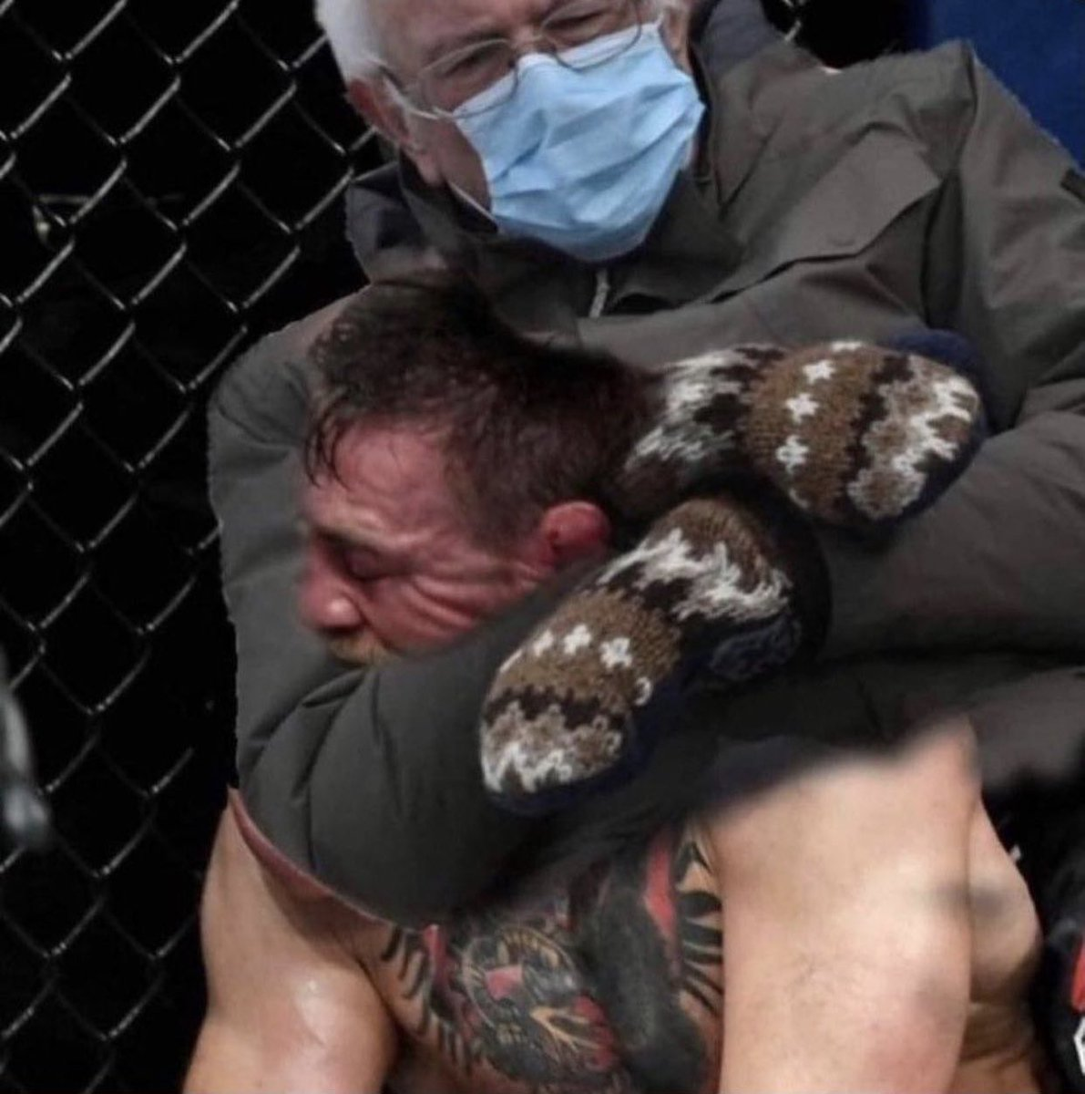 .wow what a fight #ufc257