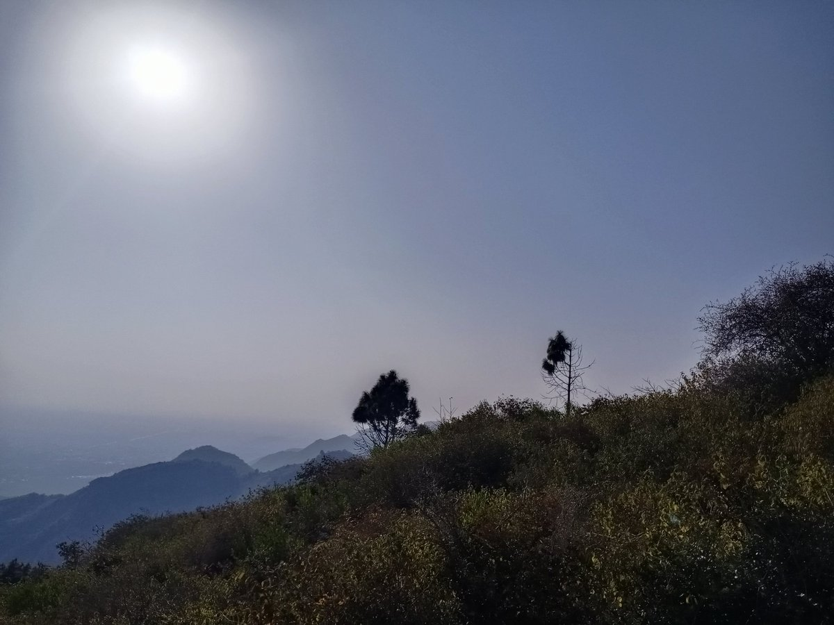 Keeping the blood pumping 💪🏻 #hiking #trail3 #Margallahills #sundayvibes