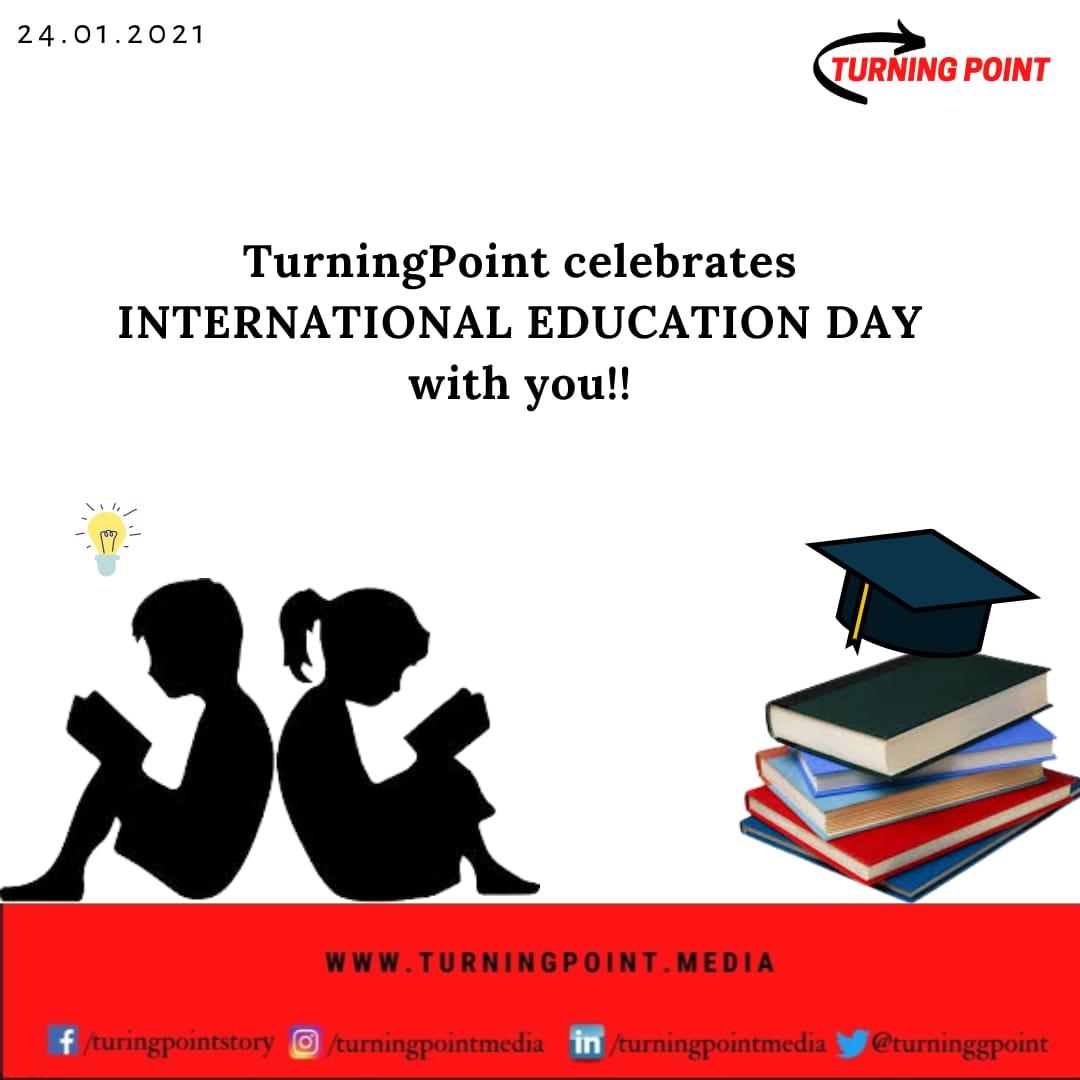 TurningPoint celebrates International Education day with you!! 👨🎓👩🏫 #InternationalDayofEducation #education #EducationDay #educate #LearningNeverStops #sundayvibes #learn #books #TurningPoint #WritingCommunity #writerslift
