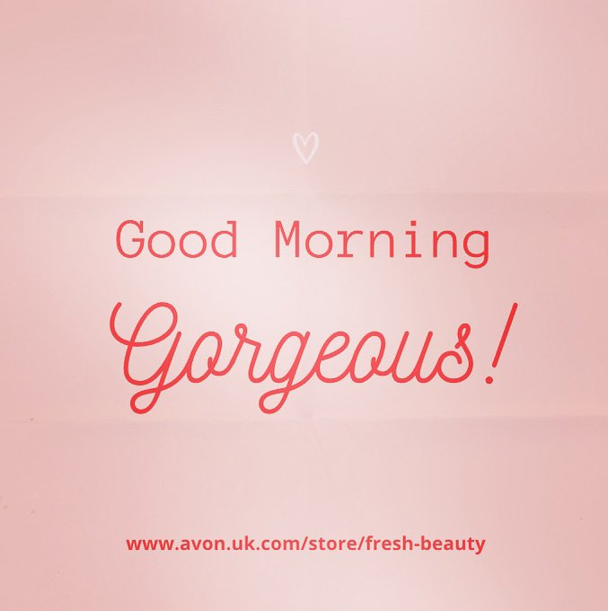 It's National Compliment Day so, in case no one has told you yet today, you're gorgeous! 😍😍😍    #NationalComplimentDay #YoureGorgeous #GoodMorning #sundayvibes #selfcaresunday #AvonRep #cosmetics #lookgoodfeelgood #beautyUK #beauty #makeup #pamper