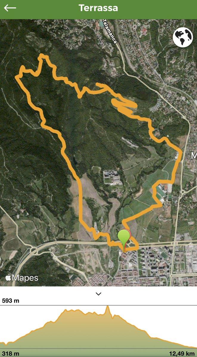 Ruta matinal 12,5km #senderismo #trail #walking #mountains #nature #trailwalk #walk #sport #terrassa #instagood #instagram #igers