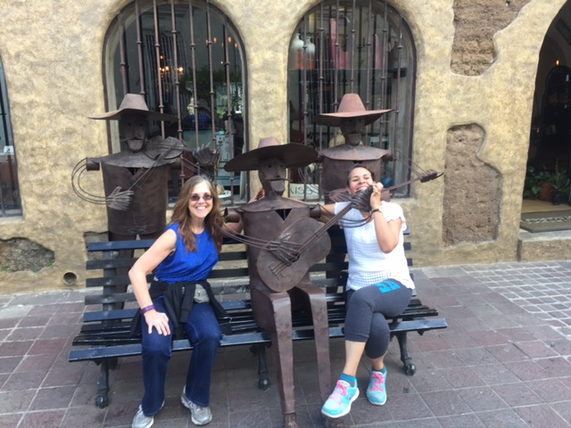Dana and a close friend in Tlaquepaque Jalisco.   #friends