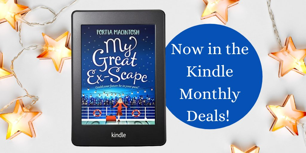 ⭐️E-BOOK DEAL⭐️  My Great Ex-Scape by @PortiaMacIntosh is still in the UK Kindle Monthly Deal for January!  What if your future was somewhere in your past? A laugh-out-loud romantic comedy from bestseller, Portia MacIntosh.  Grab your e-book here:
