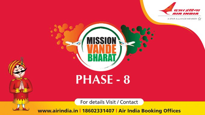 #FlyAI : For detailed schedule of flights operating under VBM phase 8 please click on