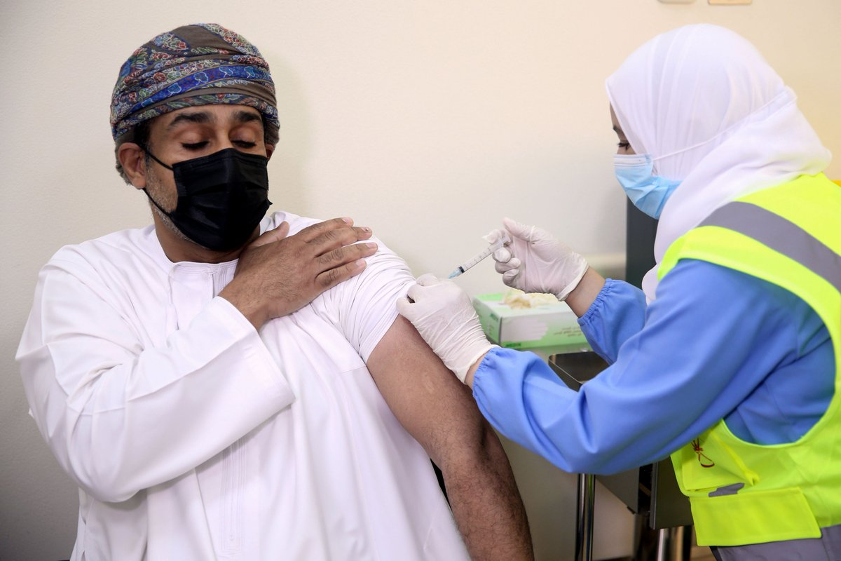 Oman vaccinates almost 2 million people against COVID-19