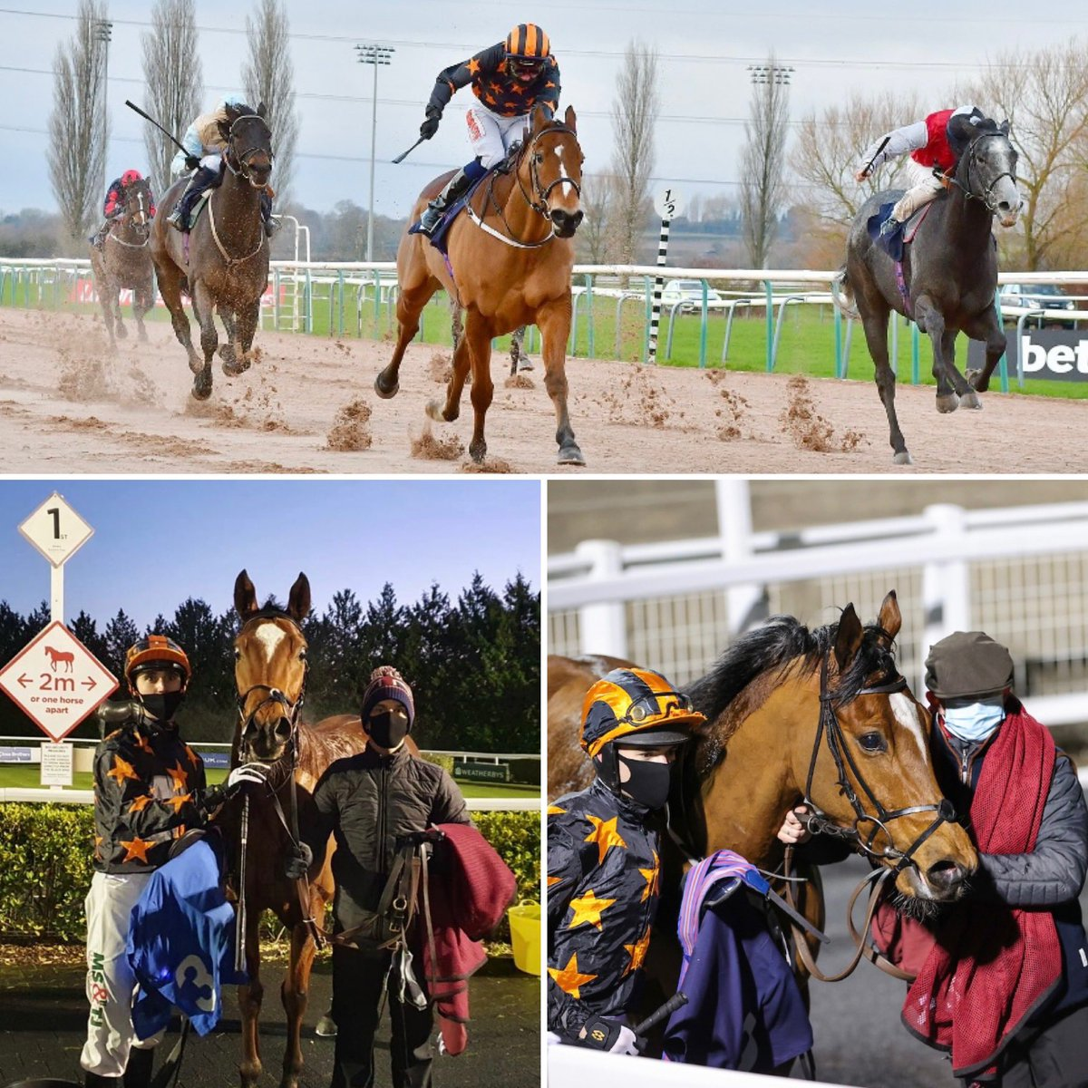 Deb's Delight declared to run @Southwell_Races on Tuesday afternoon with @Isbestbilly in the saddle.  3 winners already on board and we are looking forward to a great year ahead. New members are always welcome, please get in touch if you have any questions https://t.co/mVTVMpVEHt