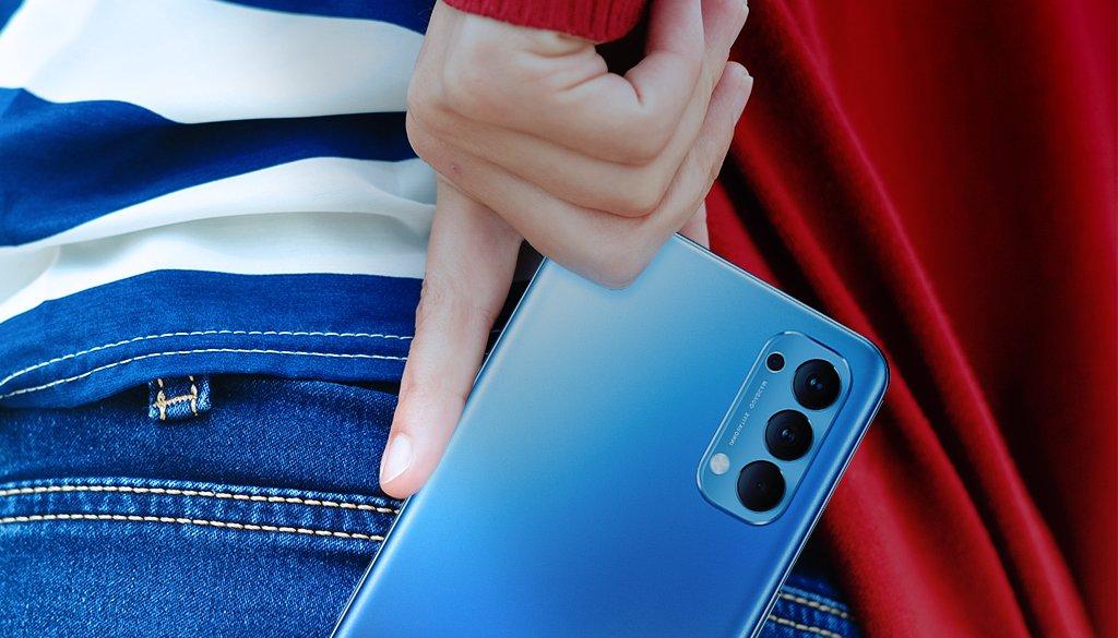 تصميم #OPPOReno4 يكمل إطلالتك و أداؤه الفائق يسرع نمط حياتك، هذا الجهاز هو ما تحتاجه في يومك ✨ #OPPO #oppo_saudi #shotonOPPO
