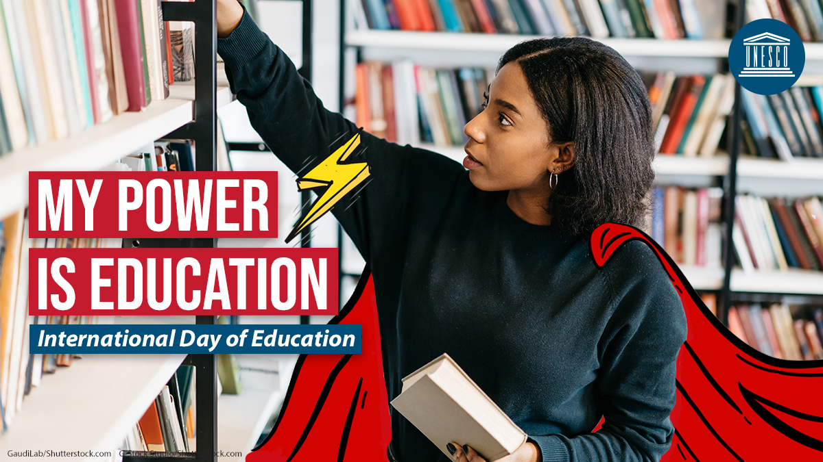 On #EducationDay, we are looking forwards.   What will #FuturesofEducation look like? There's still time to submit your views to @UNESCO. Check out our response on the role of #TransformativeEducation in facing global challenges ➡️ https://t.co/zGjqgC24Cw #PowerEducation https://t.co/nNjBvq4P4I