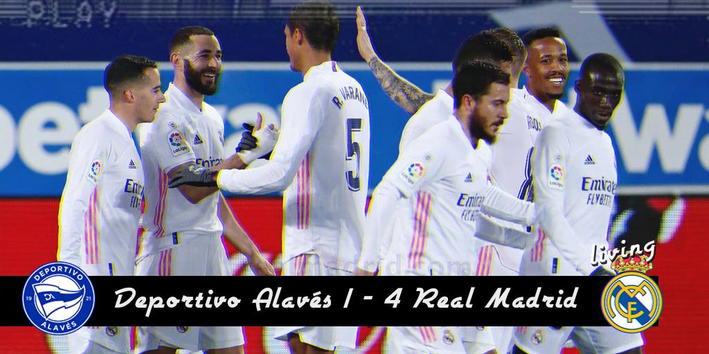 ⚽ CRÓNICA| El Madrid que todos queremos ver  Parece increíble como un equipo puede pegar un cambio tan radical en cuestión de días pero ese es el caso del Real Madrid. Tras un muy mal partido ante el Alcoyano...  #HalaMadrid #RMLiga #AlavesRealMadrid