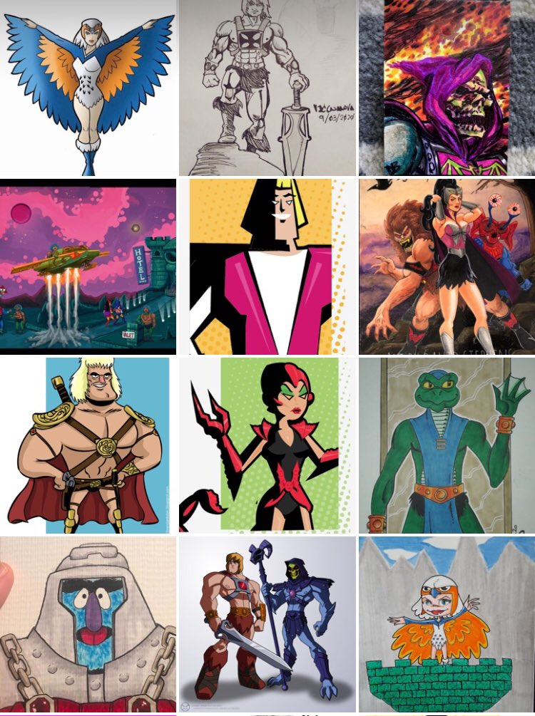 💥To all of those who have participated in the Masters of the Universe Drawing Challenge over the past two years, but not recently... please come back soon! We miss you and appreciate your art and participation very much! ⚔️💪  #motudrawingchallenge #motu #heman #motuart #shera