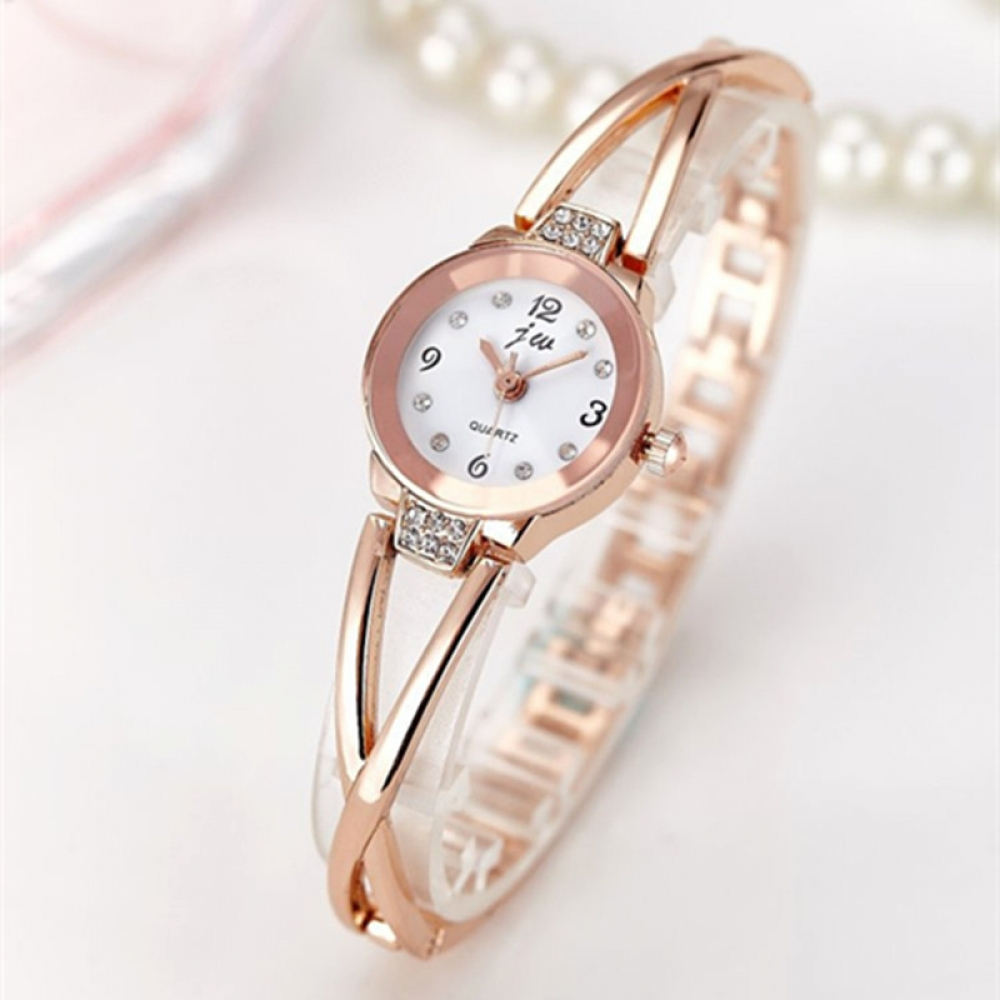 Women's Bracelet Watch with Rhinestones  ________________________  #food #tflers