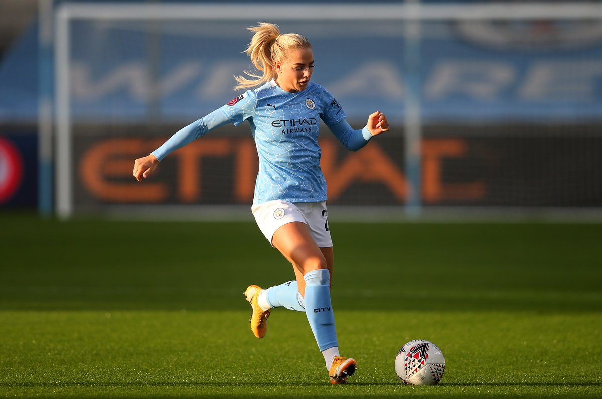 Record-breaker.   @AlexGreenwood set a new record for the most passes completed (158/166) in a single #BarclaysFAWSL match against @BHAFCWomen. 👏