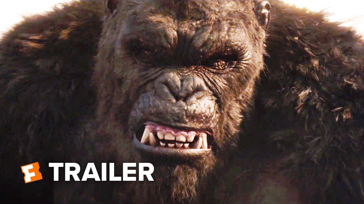 """""""Kong bows no one""""   I'm All for this shit!   #kongvsgodzilla #GodzillaVsKong"""