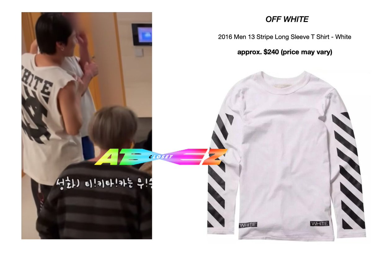 210119 - ATEEZ(에이티즈) ANEWZ #13 - Wooyoung [wearing OFF WHITE 2016 men's long sleeves tee]  Available here: Out of stock @ATEEZofficial  #ateezcloset #ateezfashion #wooyoungfashion #WOOYOUNG #jungwooyoung  #우영 #정우영  #에이티즈