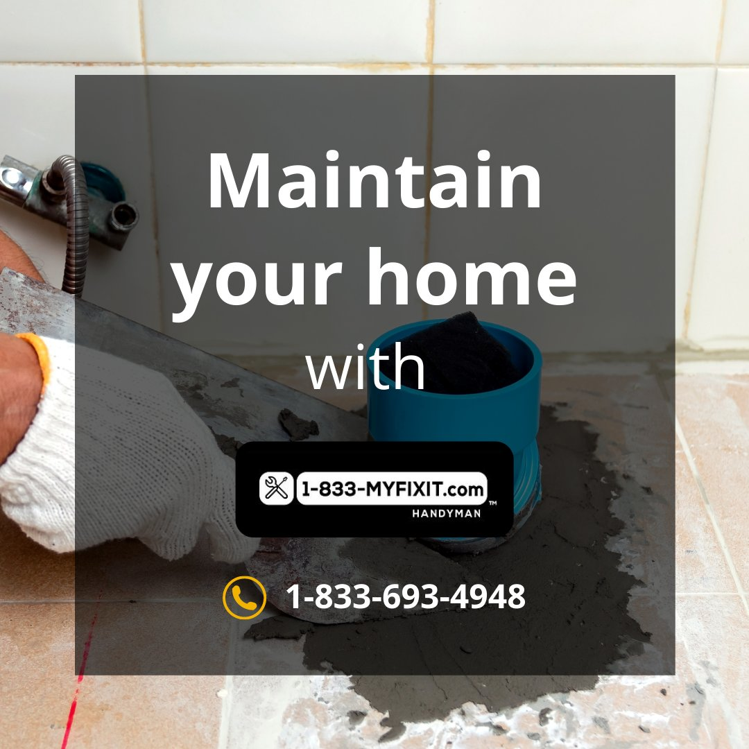 Contact us with your to-do lists, maintenance and unfinished projects. We handle everything from building things, updating, to getting spaces ready!  Call now, toll-free: 1-833-693-4948 #1833myfixit #handyman #PowerWashing #Toilets