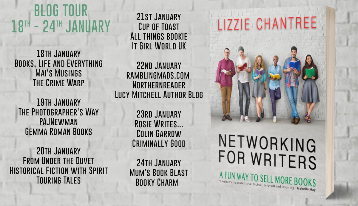 """"""" it's a pretty slim volume at 98 pages, but each chapter is densely packed and hits you over the head with information."""" says @lexi_rees about Networking For Writers by @Lizzie_Chantree"""