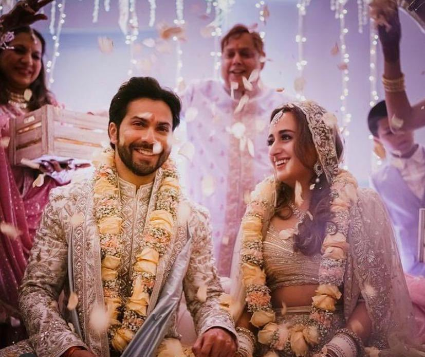 Replying to @ParineetiChopra: Congrats VD and Natasha!! 💕 Sooo happy for the both of you 💕💕 @Varun_dvn #NatashaDalal