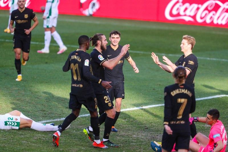 ➕ 3️⃣ pontos na @LaLigaBRA 🙌   👊 Vaaaamos Barça! 🔵🔴