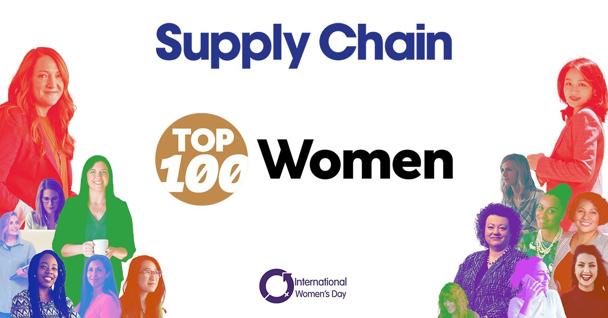 📢 Voting for the Top 100 Women in Supply Chain closes in ONE WEEK!  Cast your vote now before it is too late 👉  #SupplyChain #Top100Women #InspirationalWomen #InternationalWomensDay
