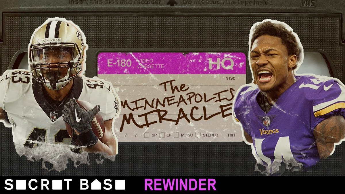 @secretbase presents a rewind of the #MInneapolisMiracle