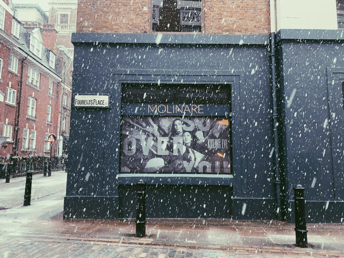 Snow business like show business ❄️⛄️  #foley #molinare #snow #postproduction