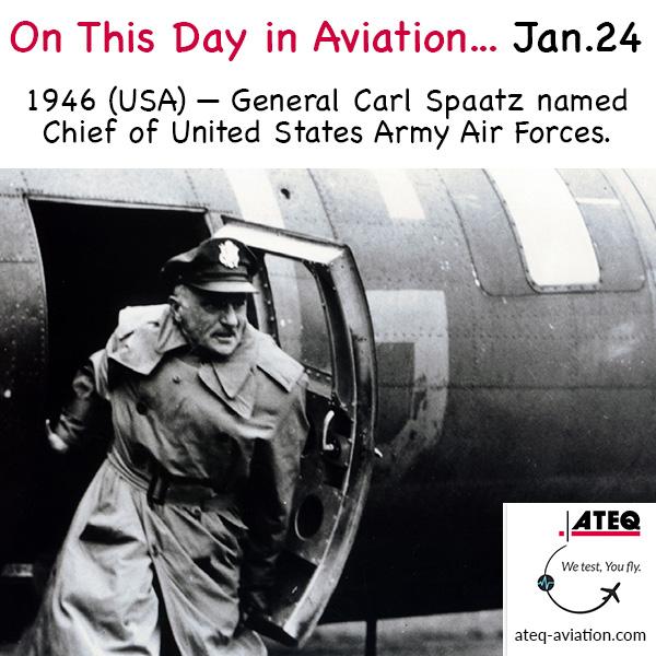What happened #onthisday in #aviation history? • @ATEQ & Cobra Aviation, Inc.  |  • #avgeek #planespotting