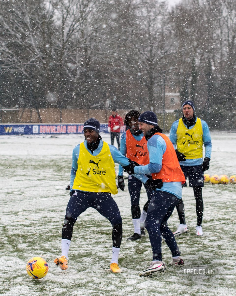 😁❄️  #CPFC |