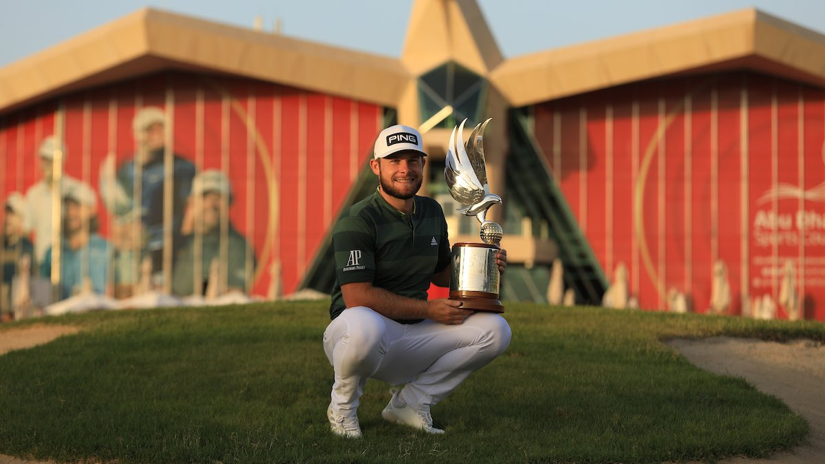 Replying to @TyrrellHatton: No feeling so glum now... 🏆  #ADGolfChamps