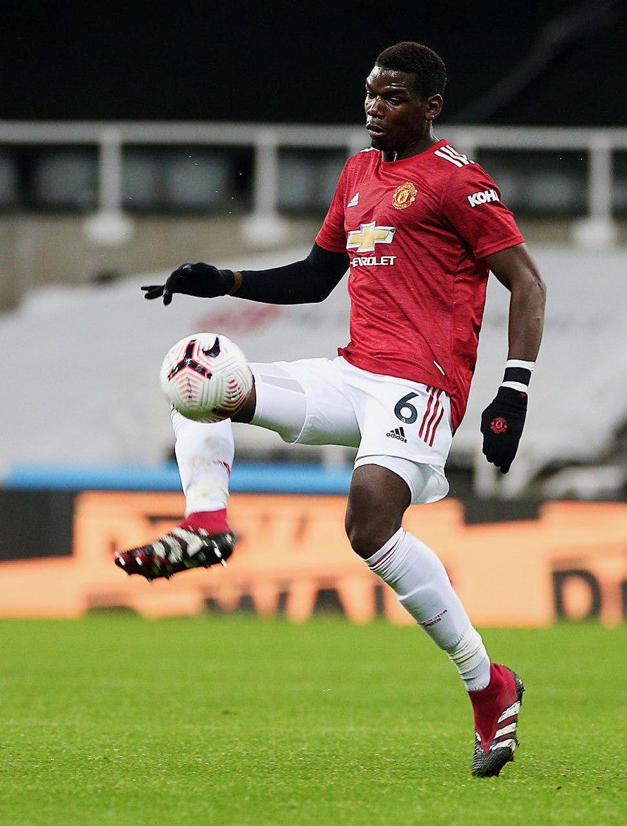 Cool calm and collected most important player PAUL POGBA #MUNLIV