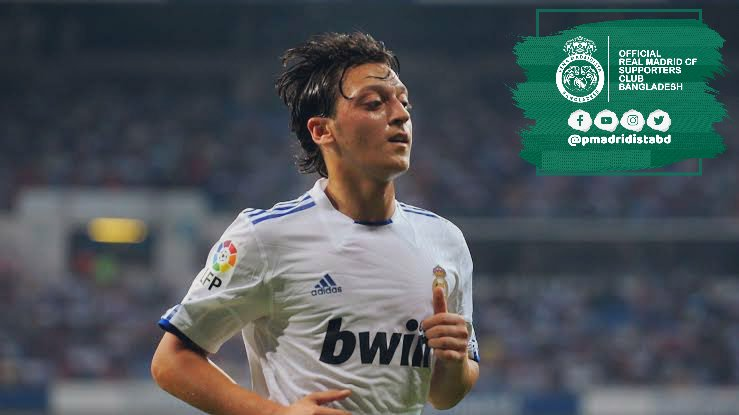 Mesut Özil (2009-2013)  204 Games 37 Goals 103 Assists   • 0.68 G/A per game   • A Goal or Assist every 108.1 minutes   • Scored/Assisted 31.1% of team goals   • 0.82 non penalty Goals/Assists per   Was an absolute joy to way for the Los Blancos.  #HalaMadrid | #MadridistaBD