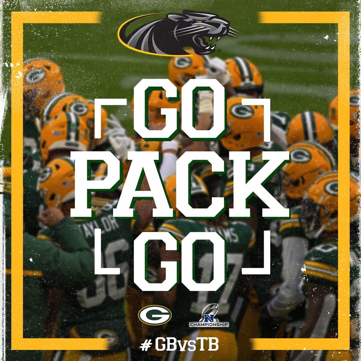 We back the Pack!  #GoPackGo | #GBvsTB