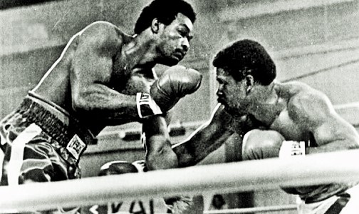 """""""Both were on rubbery legs, teetering like drunken sailors on the deck of a storm-ravaged ship as the crowd went berserk ..."""" Check it out:  #Boxing #History #OnThisDay #LasVegas #Legendary #OTD #Sports #Legends An all-time great heavyweight brawl."""