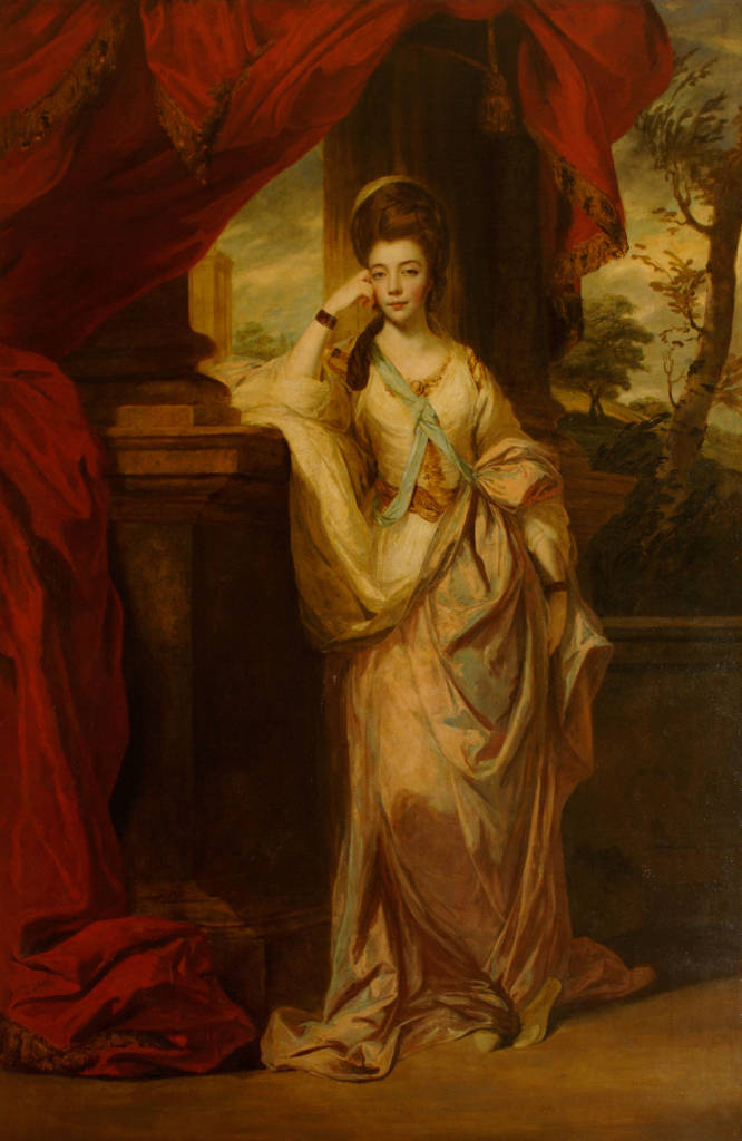 Born #OnThisDay in 1743: #AnneLuttrell (1743-1808), Duchess of Cumberland and Strathearn as spouse of Duke Henry  Portrait by #JoshuaReynolds (1723-92), 1772-3  #AnneHorton #Hanover