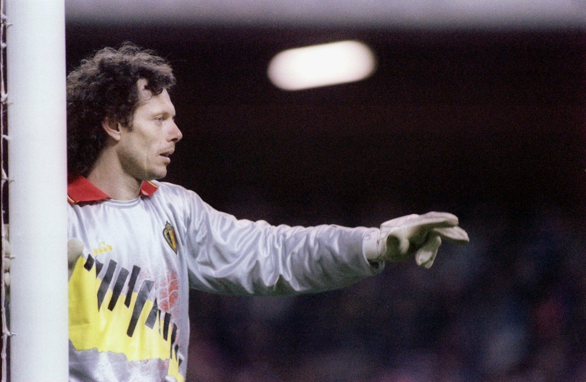 Michel Georges Jean Ghislain #Preudhomme was #BOTD. He was considered one of the world's best and most consistent keepers during his professional career; he was the first winner of the Yashin Award as the best goalkeeper at the 1994 #WorldCup...