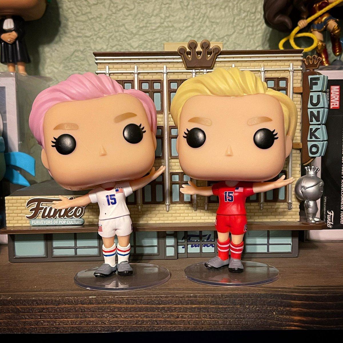 Today's #FunkoWomenOfPower selection is Megan Rapinoe x2! 🔥💯⚽️  #funko #soccer #uswnt #meganrapinoe #coloradofunko @OriginalFunko