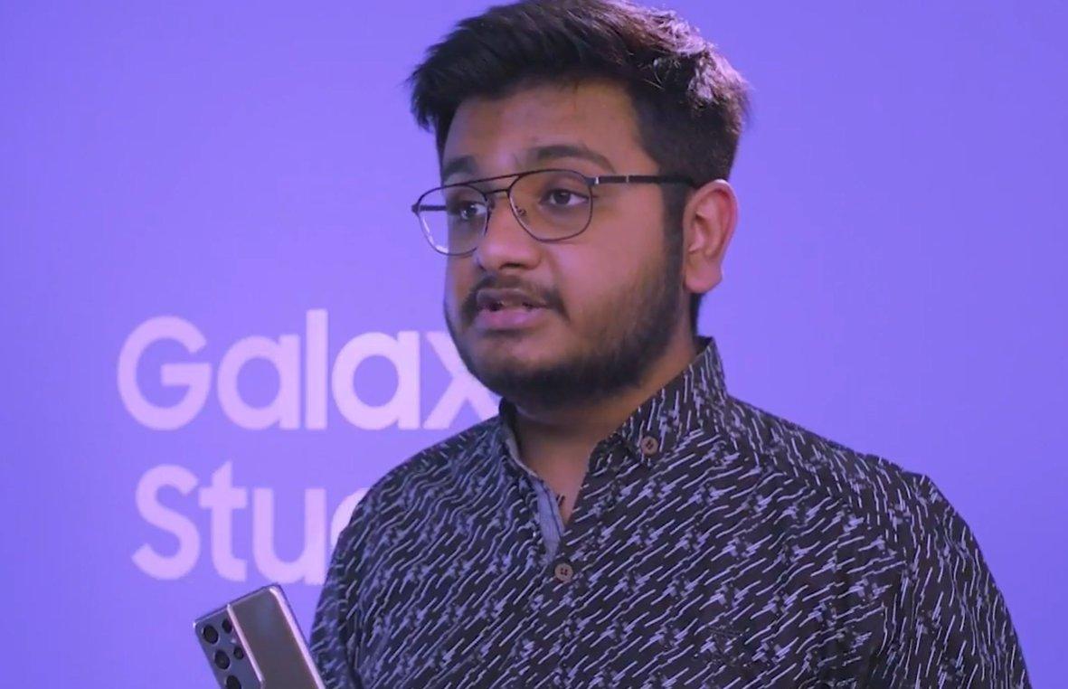 Bilal from Video wali Sarkar here   #GalaxyS21