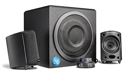 ✳️ Wavemaster Moody BT 2.1 Lautsprecher System (65 Watt) mit Bluetooth-Streaming Aktiv-Boxen Nutzung für TV/Tablet/Smartphone/PC  🇩🇪 99,00€  🔗   #Deals #Amazon #Sale #BlackFriday #ad