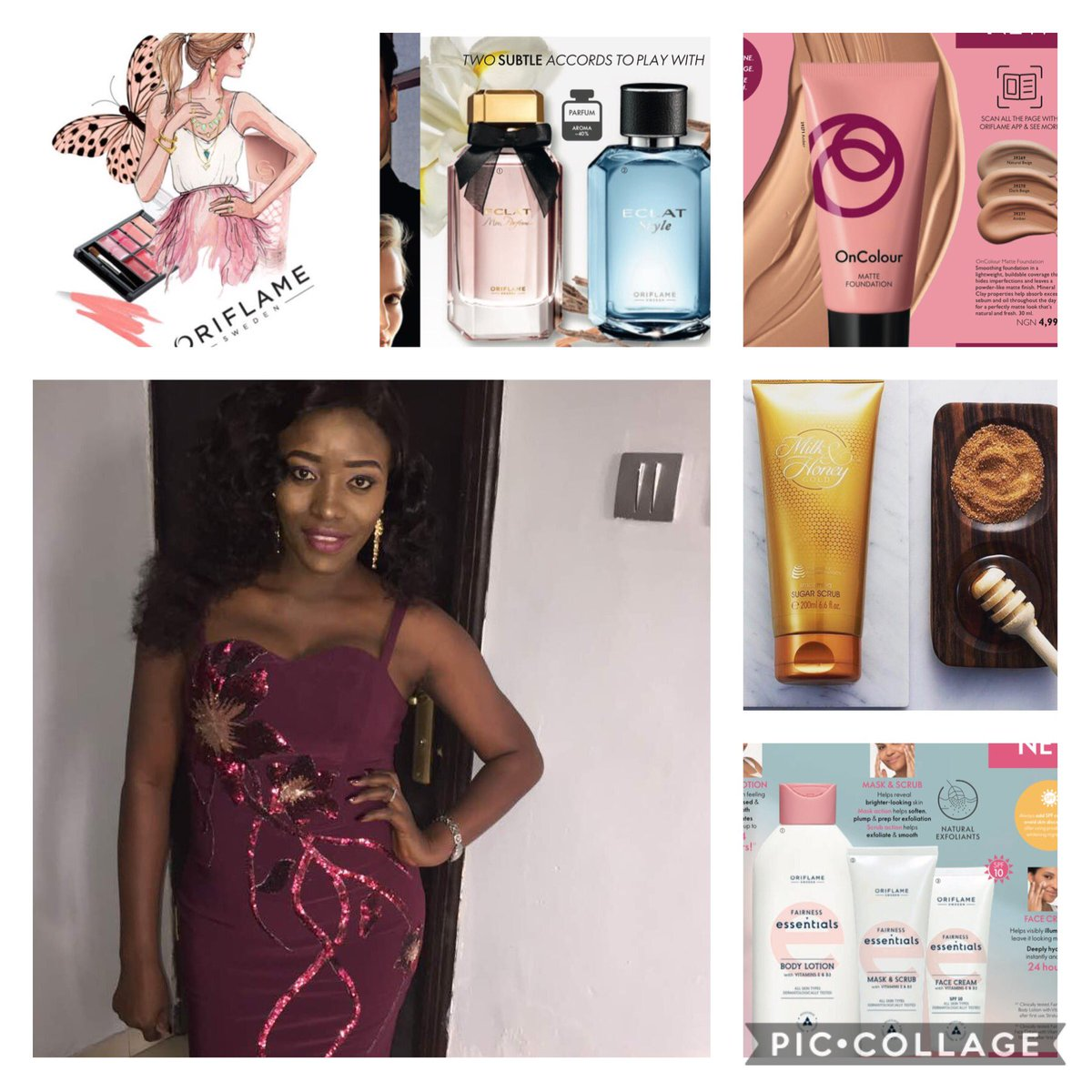 Happy Sunday ❤️❤️❤️  Let me be your plug for beauty products (oriflame)  Dm or WhatsApp 08136350466 to place your orders for yourself or loved ones  #oriflame #sundayvibes #beautybysweden #perfume #personalbeautyshopper #