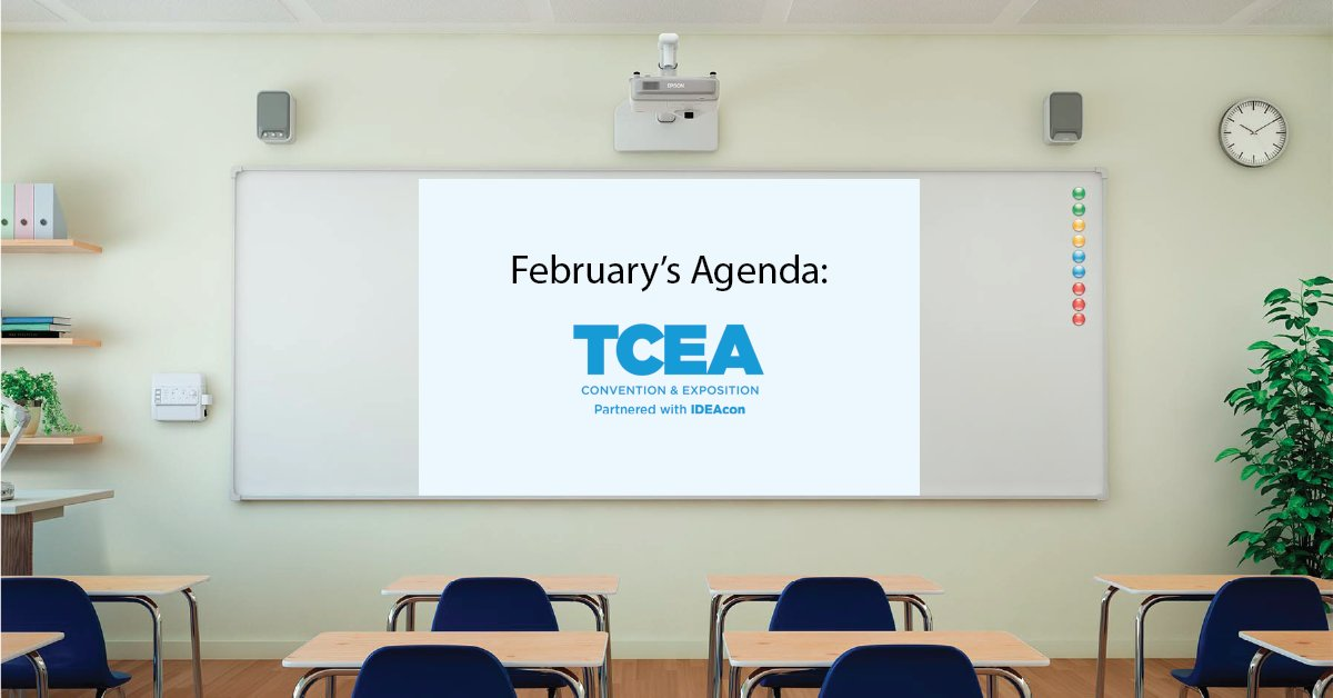 From February 1st to 24th participate in powerful learning opportunities and get access to the latest education technology at TCEA. Register now: