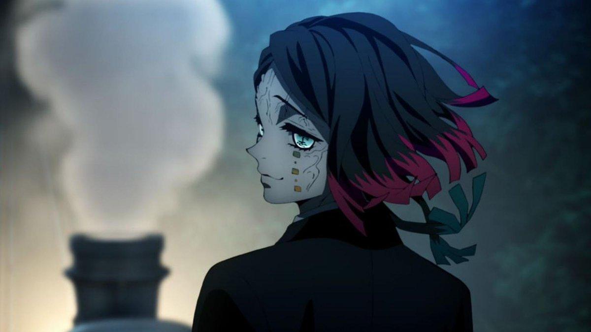 Demon Slayer -Kimetsu no Yaiba- The Movie: Mugen Train (2020)  ญี่ปุ่นต้นศตวรรษที่ 20 คือยุคสมัยที่ความเป็นสมัยใหม่กำลังหลั่งไหลเข้ามา และในนามแห่งความศิวิไลซ์ รถไฟก็กลายร่างเป็นปีศาจที่ทั้งหลอกขายฝันและเข้ากลืนกินชีวิตมนุษย์ไปพร้อมๆกัน #kimetsunoyaibathemovie