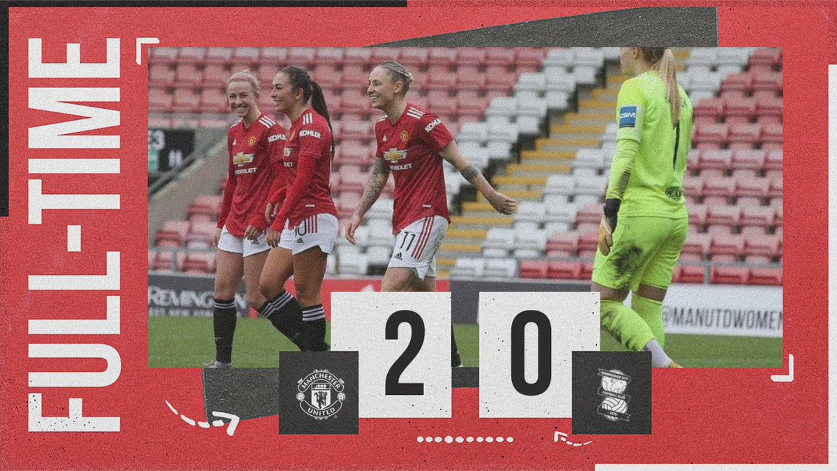 Three smiling faces can only mean one thing: 𝙏𝙃𝙍𝙀𝙀 𝙋𝙊𝙄𝙉𝙏𝙎! 😄😄😄  #MUWomen #BarclaysFAWSL