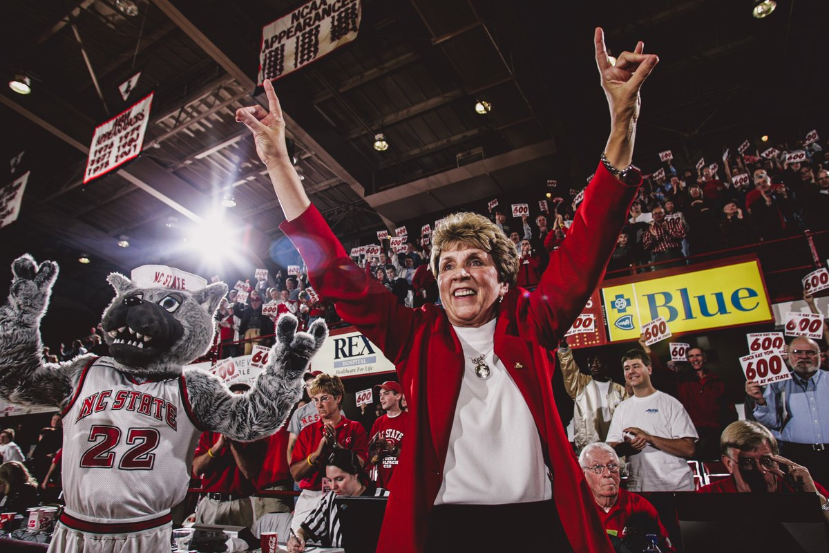 12 years ago today, we lost an amazing coach, leader and friend in Kay Yow. We love you and miss you, Coach. ❤️