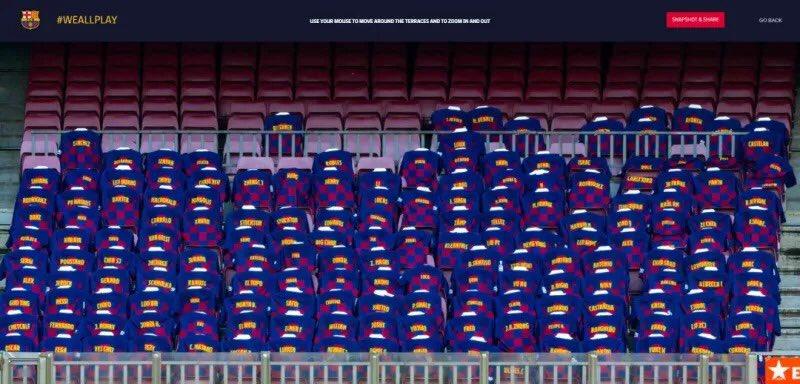 Blaugrana China 2020 memorabilia, we all play T-shirt shows in camp nou stadium. #ViscaelBarça #iViscaCatalunya!🔵🔴 #BlaugranaChina #ForçaBarça #MesQueUnClub #Blaugrana  #Blaugranashanghai #barcelonista #BarcaWorld #ViscaBarca #igersFCB #FCBWorld #FCBarcelona #Barca #FCB