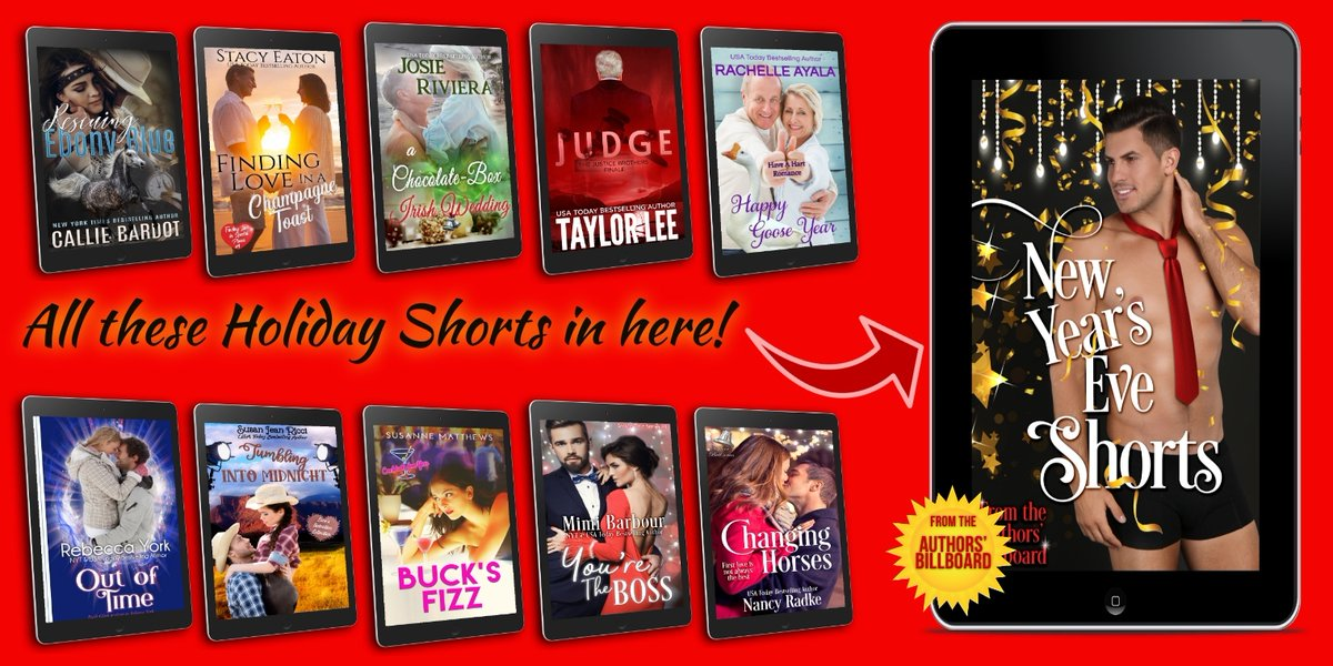 NEW YEAR'S EVE SHORTS: 9 #NEW #romances to lift your spirits w/ tales of second-chances, adventure, overcoming obstacles, and finding love in unimaginable places.  #mgtab @MimiBarbour @StacySEaton @CynthiaCooke5 @jandsmatt #newrelease #NewYearsEve