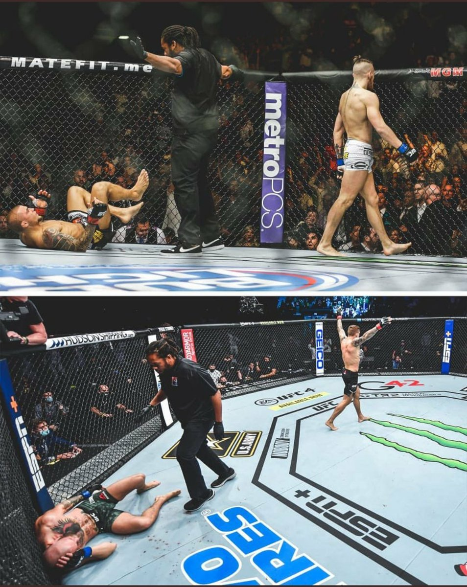7 years later the tables turned #UFC257  Teaches us to be humble in victory and gracious in defeat