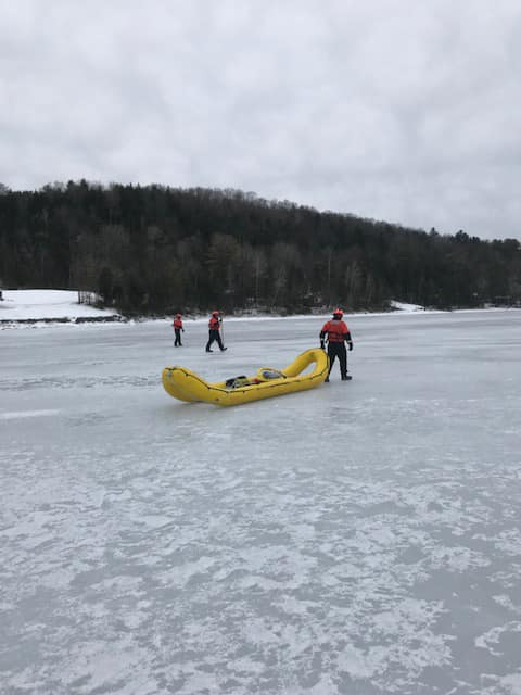 #USCG Station Burlington Vermont is the only ice rescue unit in #NewEngland operating on and off the ice of Lake Champlain. Ice rescue is a unique and extremely dynamic mission that requires significant training, risk management, partnerships, and communications.
