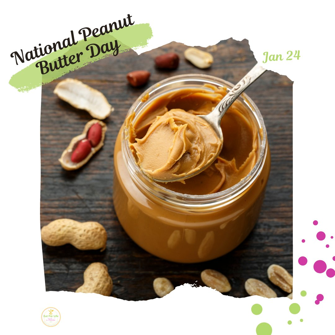 "It is National Peanut Butter Day! Love these days because I get to be nutritiously creative! 😊  more about #peanutbutter article from Harvard Health Publishing ""Is Peanut Butter Healthy?""  🤓😁   #nationalpeanutbutterday #healthyeating #healthierlife"