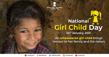 This #NationalGirlChildDay let's build on our successes to keep the girl child at the center of all the developmental efforts. A nation progresses when girls progress.   #NationalGirlChildDay #SwasthaBharat #BetiBachaoBetiPadhao