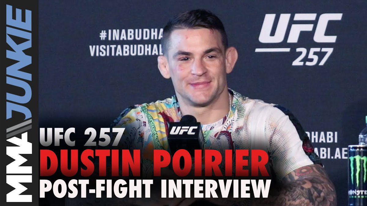 No disrespect to Michael Chandler, but if @DustinPoirier fights anyone for a vacant strap it'll be @CharlesDoBronxs.  #UFC257 | Full interview: https://t.co/cfQno3EmkA https://t.co/sc3NbPMc2v